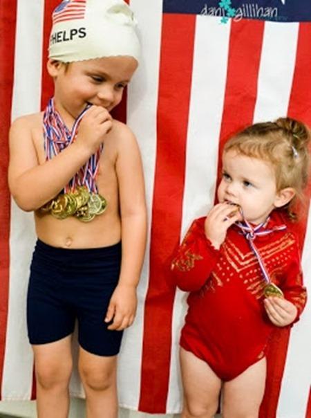 Olympians Michael Phelps and Gabby Douglas