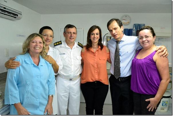 Márcia Maia faz visita a banco de leite do Hospital da Polícia (1)