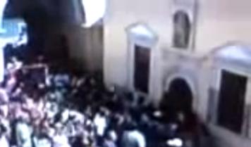 Ο Αρχάγγελος Μιχαήλ Εξαφανίζεται από την Εικόνα για 5 Λεπτά