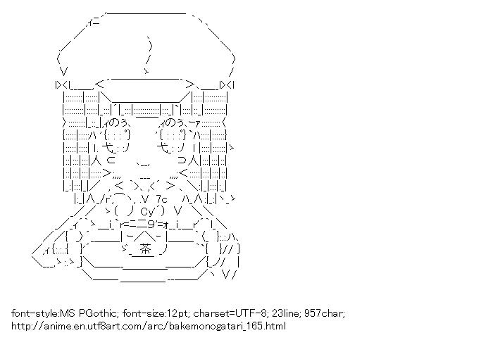 [AA]Sengoku Nadeko (Bakemonogatari)