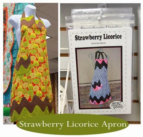 Strawberry Licorice Apron and pattern