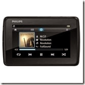 Buy Philips GoGear Tapp 4 GB MP4 Player at Rs.4085 only