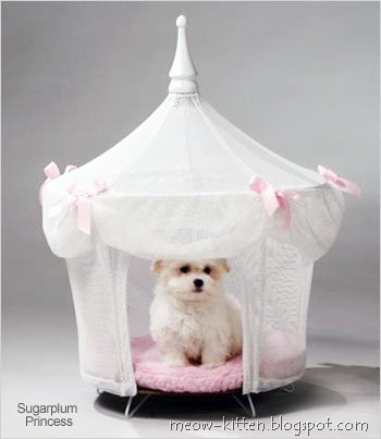 Princess Dog Cat Pet Bed