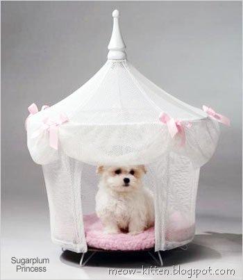 Princess Dog Cat Pet Bed