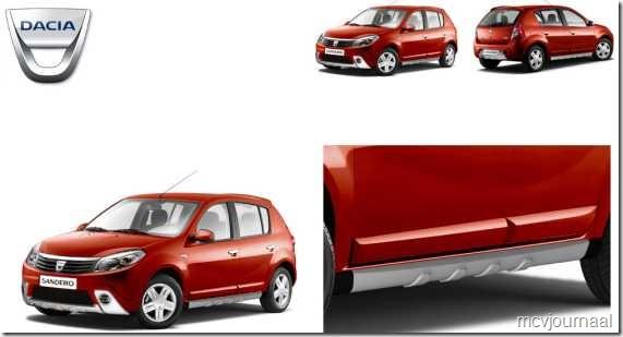 Dacia Sandero SUV set 01