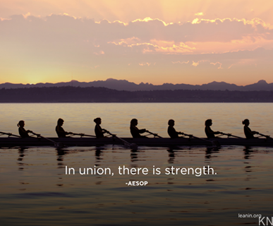 in union there is strength How can the answer be improved.