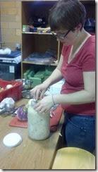 candace making turnips