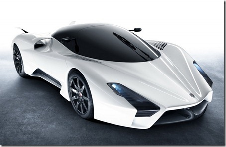 SSC Tuatara 1350HP Front View
