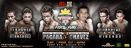 Pinoy Pride 29 Fists of Fury