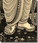 Shri Rama's lotus feet