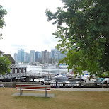 stanley park in Vancouver in Vancouver, British Columbia, Canada