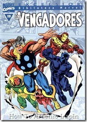P00019 - Biblioteca Marvel - Avengers #19