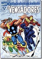 P00019 - Biblioteca Marvel - Avengers #19