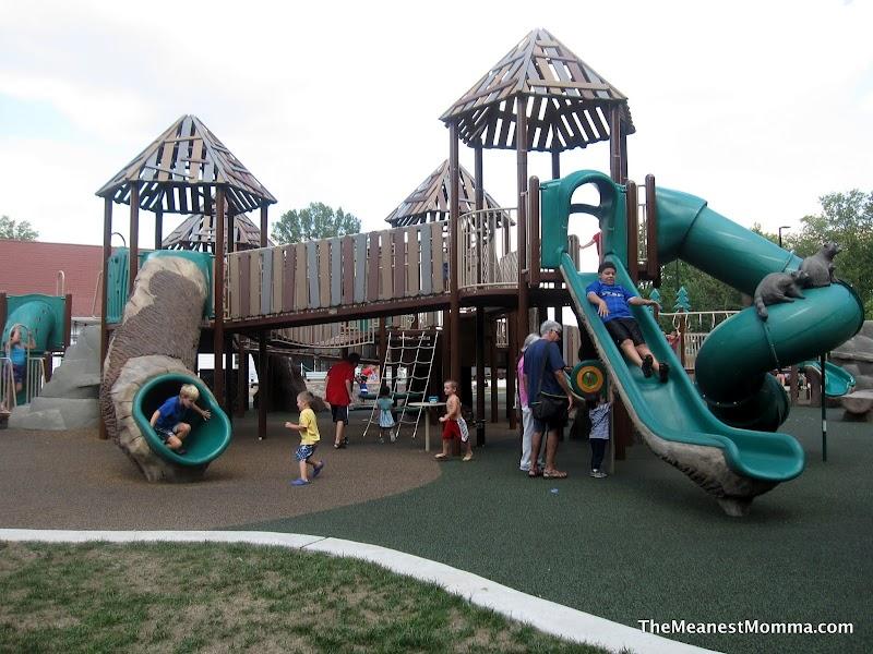 Biggest Backyard Playground : Chessie?s BIG Backyard Playground  Lee District Park (Franconia, VA