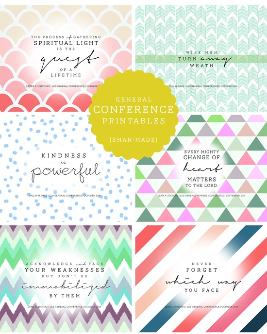 GeneralConferencePrintables