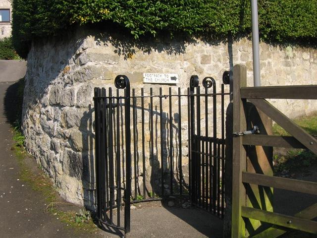 kissing gate