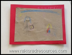 Create cards and pictures of common nursery rhymes