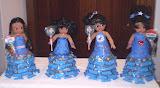 Democratic dolls with Obama candies, by Teana Allen