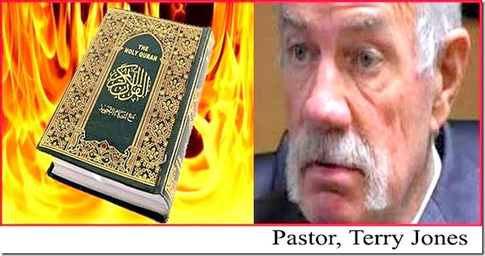 Burn Quran - Terry Jones