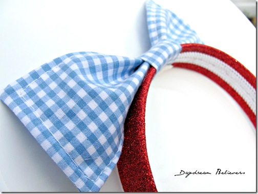 modern dorothy wizard of oz headband hair bow by daydream believers
