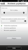 Screenshot of Mobilus papildymas