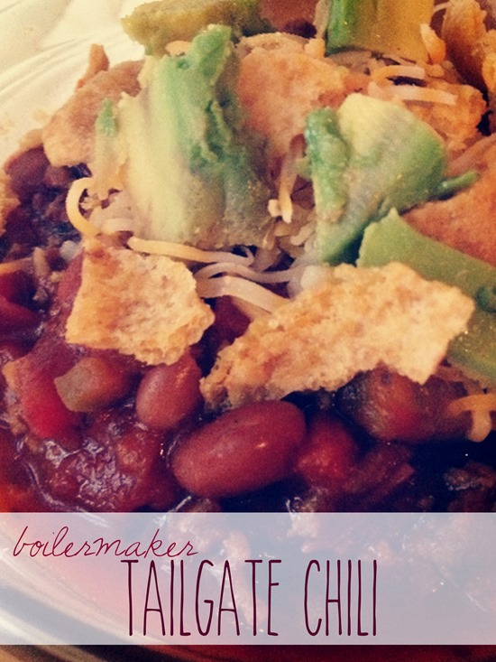 Boilermaker Tailgate Chili // 5 stars with over 3000 reviews on All Recipes