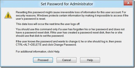 Steps To Enable Built-in Administrator Account In Windows 8 - Password Change