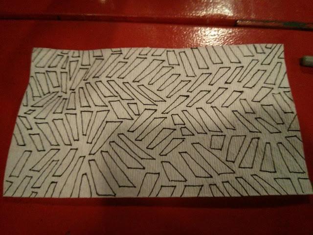 napkin pattern 365pattern pen ink doodle