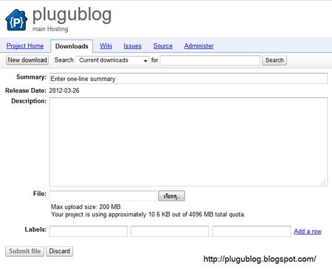 ฝาก Javascript ด้วย Google code
