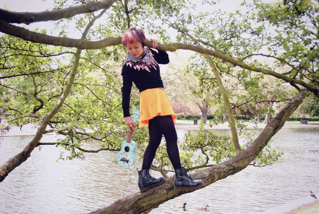 ukulele in the tree 2