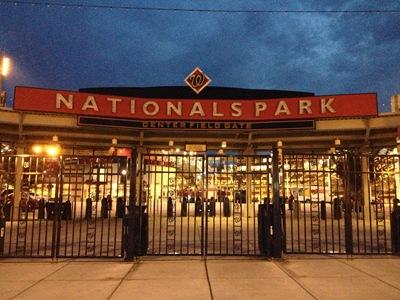 Nats Park at Twilight