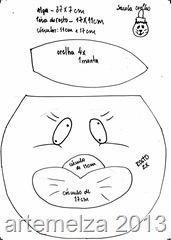 sacolinha coelhinha - artemelza