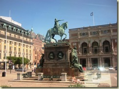 Statue of Founder of Stockholm (Small)