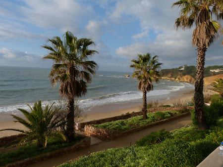 Obiective turistice Algarve: Plaja Albufeira