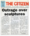 Outrage over sculpture