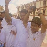 Alumnos de Managua pasean a León