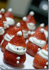 Strawbery Santas