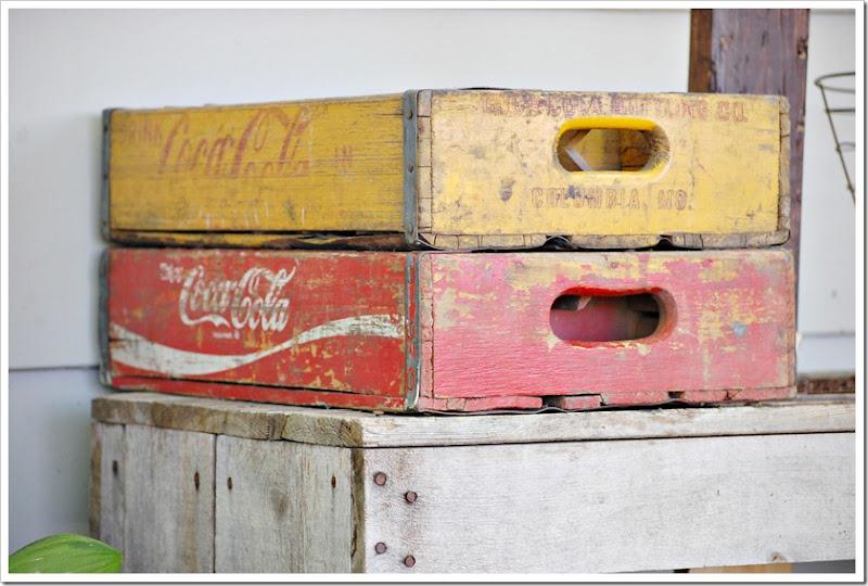 vintage coca cola boxes