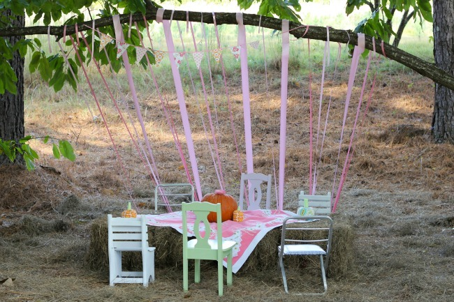 Shabby Chic Kids Table