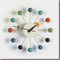 Ball Clock<br />Design George Nelson, 1948<br />&copy; Vitra Collections AG
