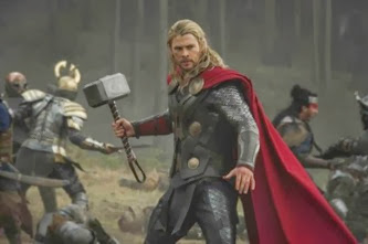 Chris Hemsworth en Thor 2