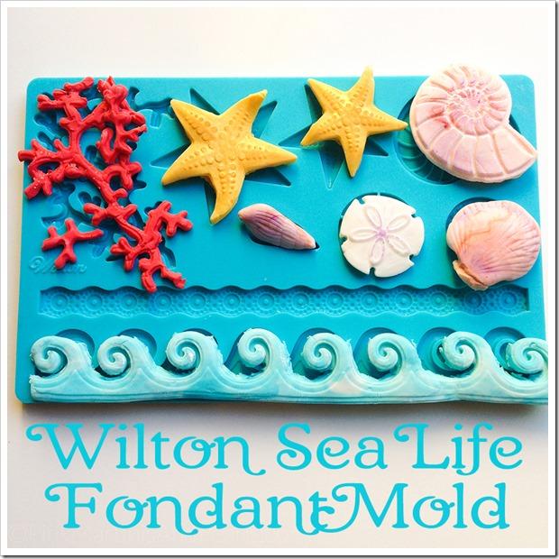 Wilton Sea Life Fondant Mold 0731.900