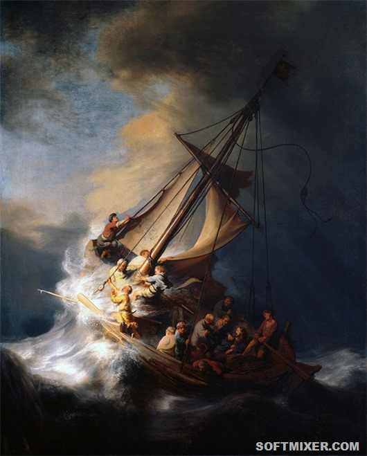 Kartina-Rembranta-Hristos-vo-vremya-shtorma-na-galileyskom-more