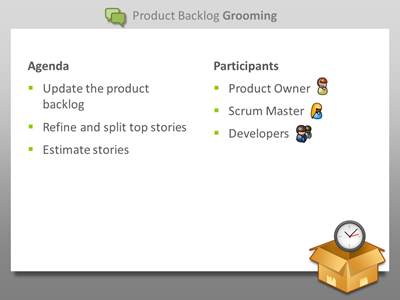 Zen of Scrum - Product Backlog Grooming