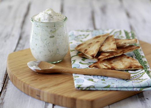 Tzatziki - Greek Yogurt and Cucumber Dip Recipe | Yummly