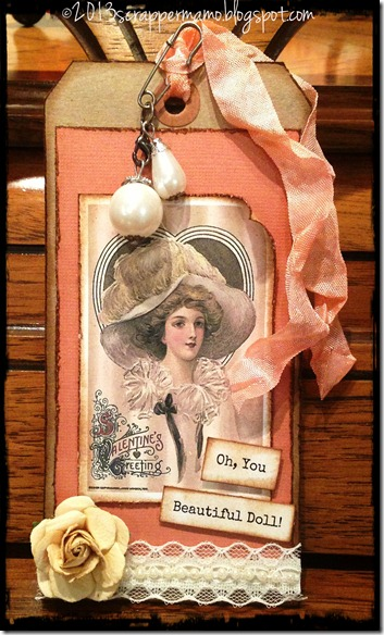Beautiful Doll Tag