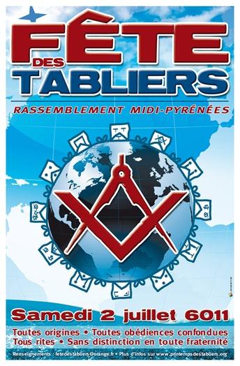 FETE DES TABLIERS Affiche 02 07 6011