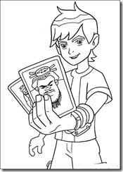 ben10-34 desenhos para colorir do Ben 10
