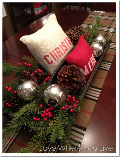 Love Where You Live: Christmas Cheer – Holiday Pillows