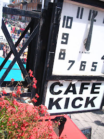 Cafe Kick Clock